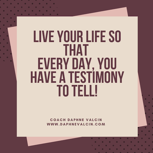 Have a testimony
